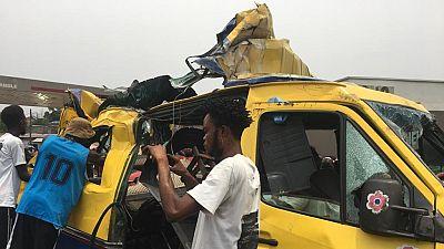 RDC : au moins 14 morts à Kinshasa dans un accident de la route (nouveau bilan)