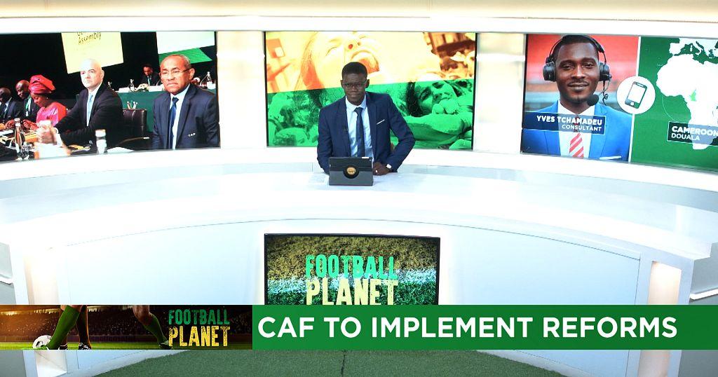 La CAF dévoile un vaste projet de refonte   Africanews