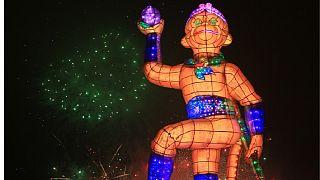Le festival des lanternes de Taipei en baisse par crainte du coronavirus [No Comment]