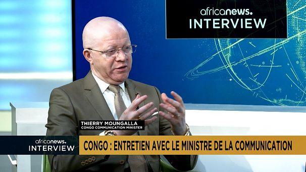 [Exclusif] Délestages, FMI, dossier Africanews... entretien avec le ministre congolais de la Communication