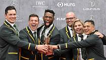 South Africa's rugby team wins World Sports Award