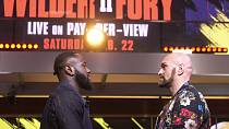 Deontay, Fury gear up for rematch Saturday
