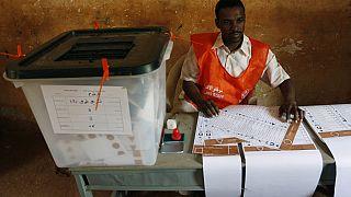Banned from running for president: Benin, DRC, Egypt, Rwanda, Senegal