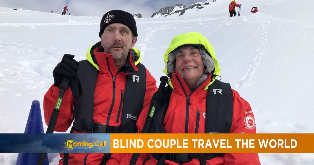 Blind couple set out to visit all the countries in the world | Africanews