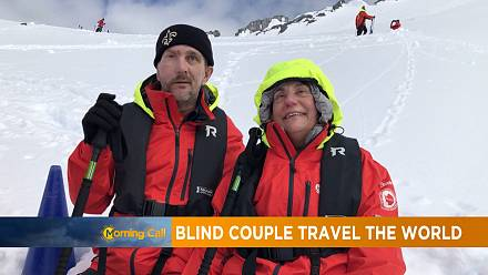 Blind couple set out to visit all the countries in the world