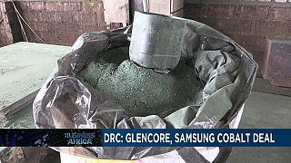 RDC : Glencore fournira du cobalt à Samsung [Business Africa]
