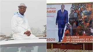 Présidentielle au Togo : Jean-Pierre Fabre et Agbéyomé Kodjo, deux candidats d'une opposition divisée