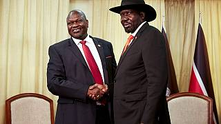 South Sudan's Kiir, Machar agree to form unity government
