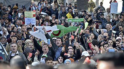Algeria president hails 'Hirak' protesters ahead of anniversary