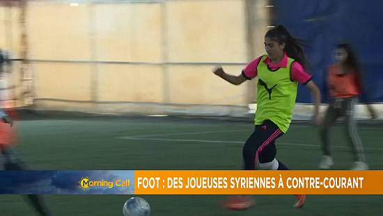 Syrian female footballers beat the odds [Grand Angle]