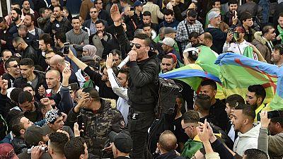 Très forte mobilisation à Alger pour le 1er anniversaire de la contestation populaire