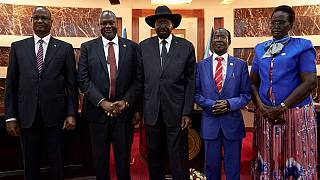 South Sudan forms coalition gov't