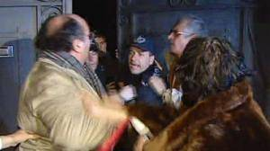 Angry clients occupy Portuguese bank