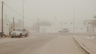 Une tempête de sable et de poussière recouvre la Mauritanie et le Sénégal