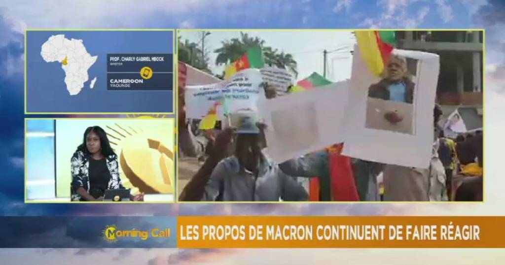 Cameroon: protests greet Macron's criticism [The Morning Call] | Africanews
