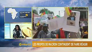 Cameroun : les propos d'Emmanuel Macron continuent de faire réagir [The Morning Call]