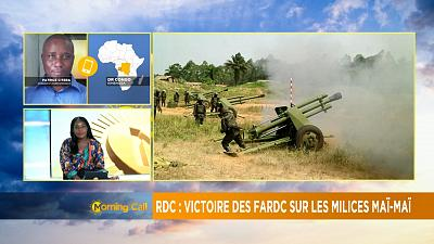 DRC: army captures rebel-militia stronghold [The Morning Call]