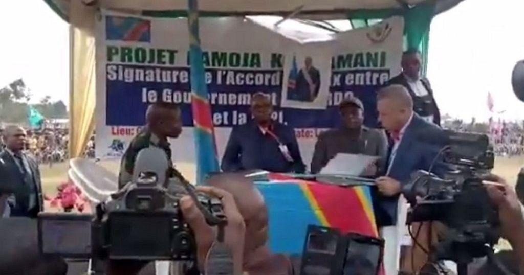 RDC : signature d'un accord de paix avec un groupe armé (médias) | Africanews