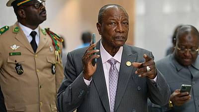 Guinea's Alpha Conde postpones Sunday's referendum, legislative elections