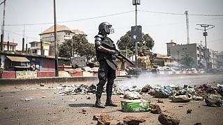 Guinean protesters, police clash after poll delay