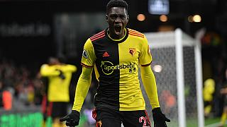 Senegal's Sarr scores twice as Watford ends Liverpool's unbeaten run