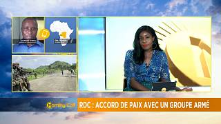 RDC : Accord de paix entre le gouvernement et un groupe armé [The Morning Call]