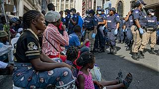 South Africa evicts African migrants squatting in Cape Town