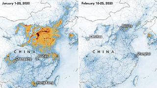 Coronavirus causes drastic drop in China's air pollution