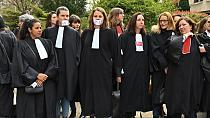 French lawyers' strike delays school shooting trial [No Comment]