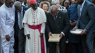 Israel gifts Ghana sacred Jerusalem stone for national cathedral foundation
