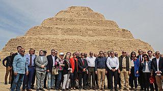 Egypt unveils famed 'Djoser' pyramid