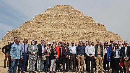 Égypte : fin de la rénovation de la célèbre pyramide de Djoser
