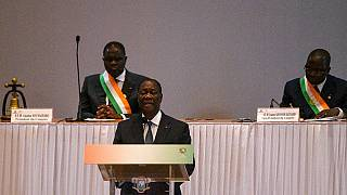 Ivorians react to Ouattara's exit