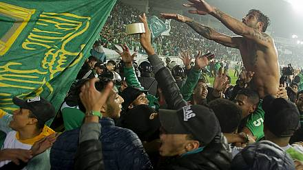 Morocco bans fans from football games over coronavirus fears