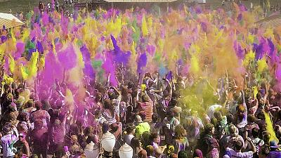 India celebrates Holi festival of colours
