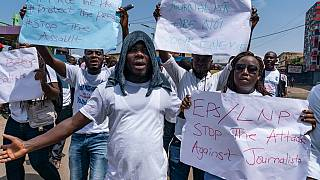Liberian journalists protest alleged police harassment