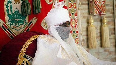 """Nigeria : la justice ordonne la libération de l'Emir de Kano """"détrôné"""""""