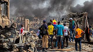 Lagos explosion death toll hits at least 17