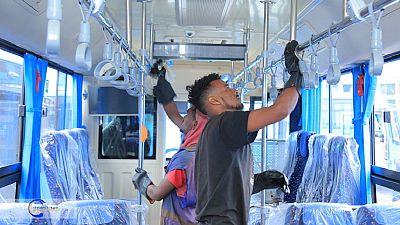Coronavirus: Ethiopia disinfecting public buses, subsidizing sanitizers