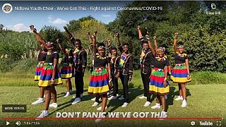 Famed South African choir delights with coronavirus song