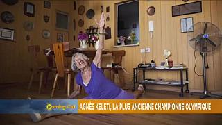 Agnes Keleti, the world's oldest living Olympian [Grand angle]