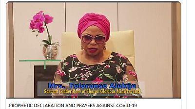 Nigeria oil mogul prayerfully 'rebukes, cancels' coronavirus globally