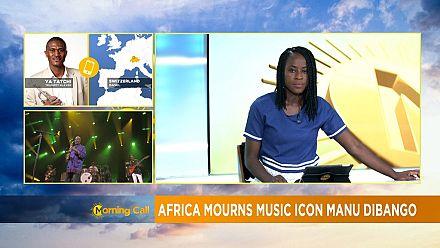 Tributes for late Afrojazz legend Manu Dibango [Morning Call]