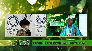 COVID-19 overwhelms Tokyo 2020