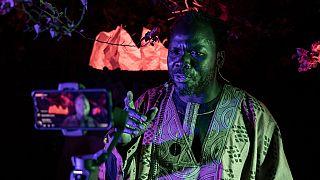COVID-19: Burkinabe storyteller live-streams tales