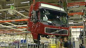 Truckmaker Volvo's losses increase
