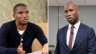 COVID-19: Drogba, Eto'o slam doctors' for suggesting Africa should be used as a test site.