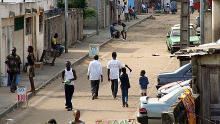 Photos: Ivory Coast protesters destroy coronavirus facility in Abidjan