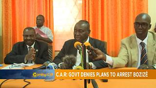 C.A.R: govt denies plans to arrest opposition leader Bozizé [Morning Call]