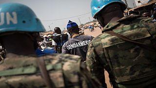 Centrafrique : une foule en colère détruit une base avancée des casques bleus